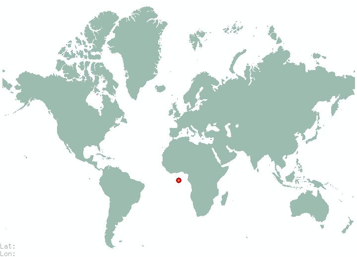 Bucharest In World Map